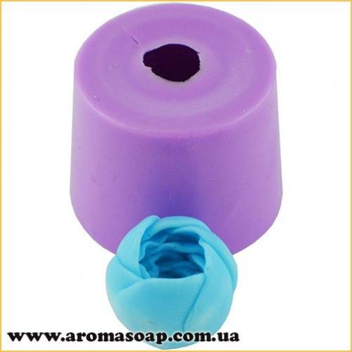 Крокус в бутоні міні для мильного букета 3D еліт-форма