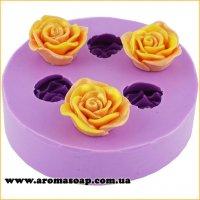 Три трояндочки міні 3D еліт-форма