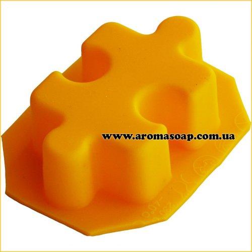 Форма для мыла Пазлы