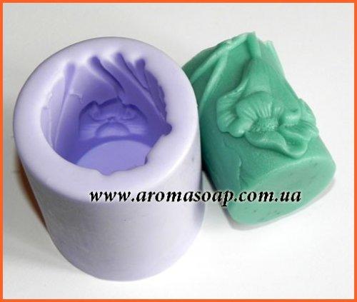 Форма для свечей с цветами 3D