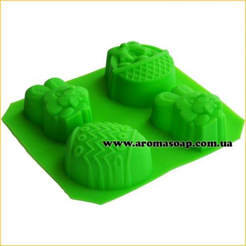Формы для мыла ручной работы Пасхальная пластина