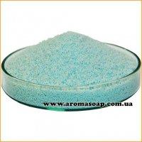 Блакитний пальмовий віск для насипної свічки (гранула)
