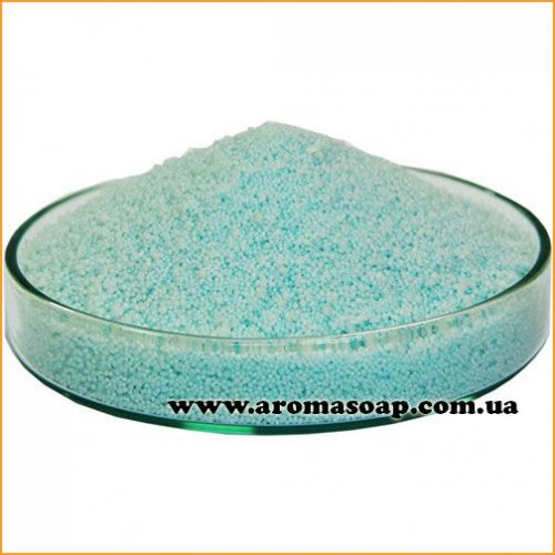 Голубой пальмовый воск для насыпной свечи (гранула)