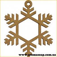 Заготівля для декорування Сніжинка 294 1шт