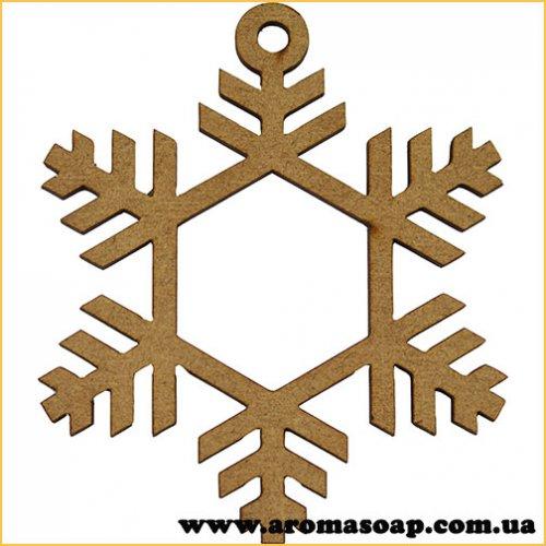 Заготовка для декорирования Снежинка 294 1шт