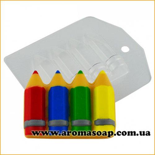 Олівці набір 59 г (пластик)