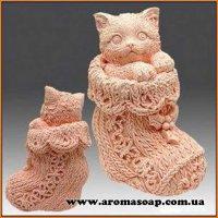 Киска в носке  3D элит-форма