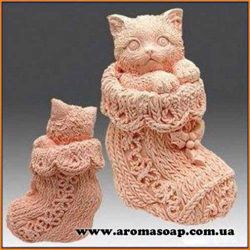 Кицька в шкарпетці 3D еліт-форма