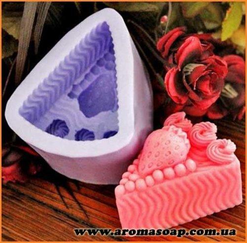 Полуничний пиріг 3D еліт-форма