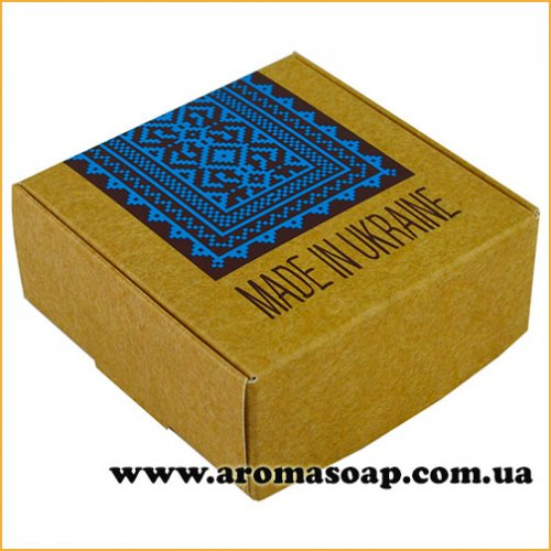 Коробка мала крафт Made in Ukraine