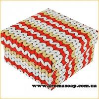 Коробка премиум Вязка красная