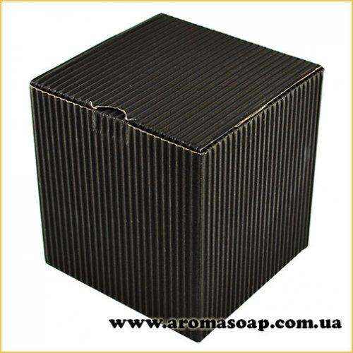 Коробка для 3D мила гофро чорна