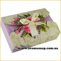Коробка-Provence с бантом Техно