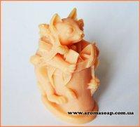 Кішечка в квітковому горщику 3D еліт-форма