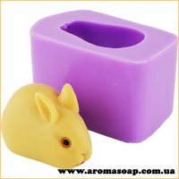 Кролик пасхальный 3D элит-форма