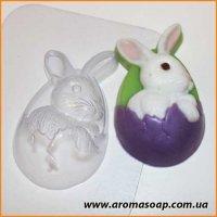 Кролик пасхальный 50г (пластик)