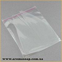 Пакетики прозрачные 12X14 (10 шт) с клейкой лентой