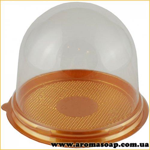 Пластикова упаковка Купол із золотим дном