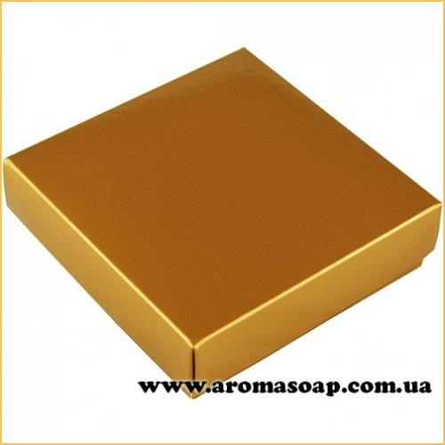 Коробочка квадро Золото