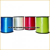 Лента упаковочная одноцветная в бабине 0,5 см х 300 м