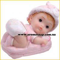 Малыш с погремушкой 3D элит-форма