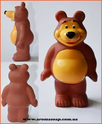 """Маша і Ведмідь """"Миша"""" 3D еліт-форма"""