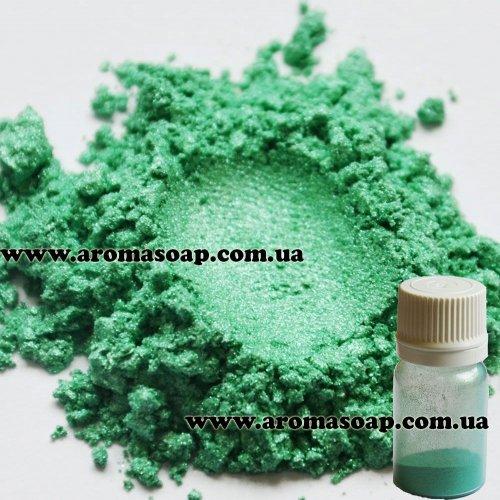 Мика косметическая Green 1 г