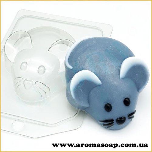 Мышь/вид сверху 88 г (пластик)