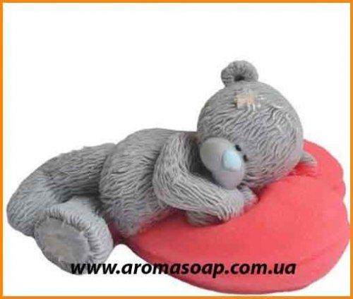 Ведмедик на подушці 3D еліт-форма