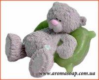 Мишка на подушке№2 3D элит-форма