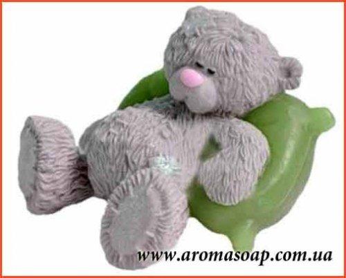 Мишка на подушке №2 3D элит-форма