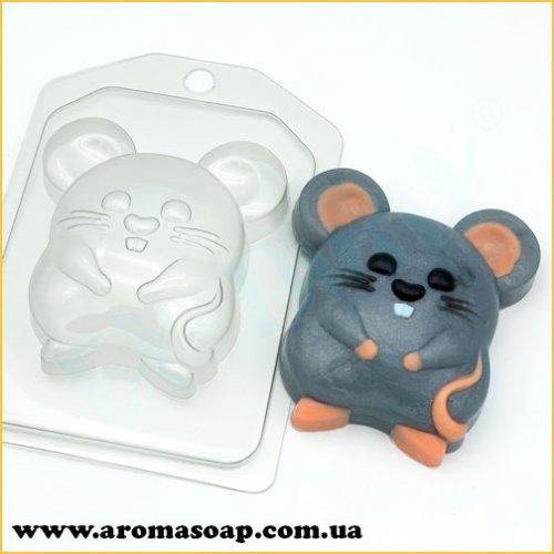 Мышь-полевка 90 г (пластик)