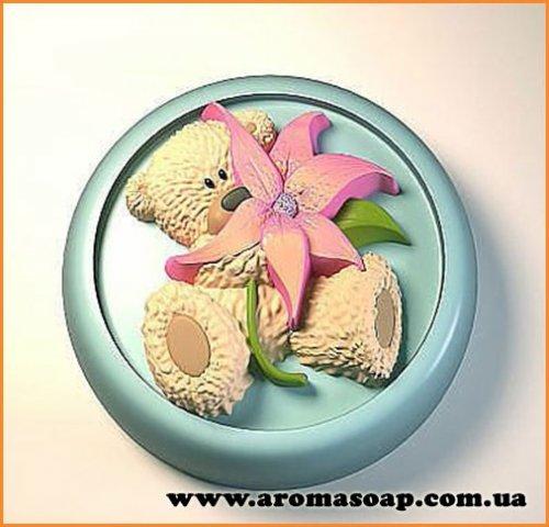 Ведмедик з квіткою еліт-форма