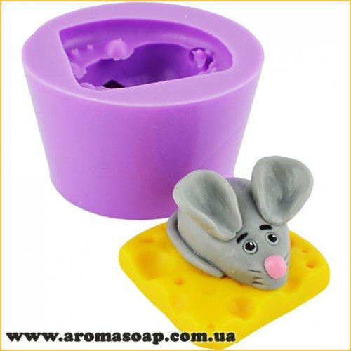 Мышка-милашка на сыре 3D элит-форма
