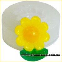 Молд 074 Цветочек-Солнышко