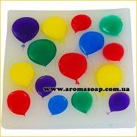 Молд 090 Праздничные шары
