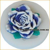 Молд 108 Роза с листиками