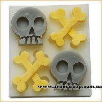 Молд 116 Кости и черепа