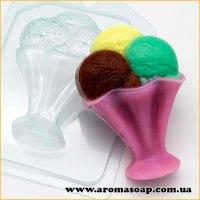 Мороженое/Шарики в креманке 75 г (пластик)