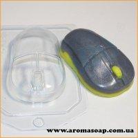 Мышь компьютерная 100 г (пластик)
