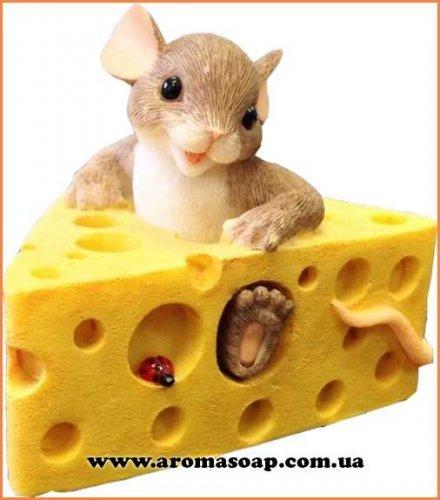Мишка в сирі 3D еліт-форма