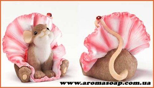 Мышка в юбке 3D элит-форма