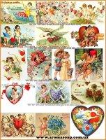 Набор картинок День Св. Валентина