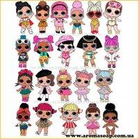 Набор картинок Куклы Лол 01