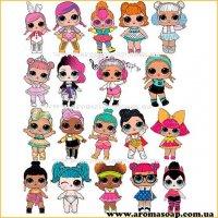 Набір картинок Ляльки Лол 02
