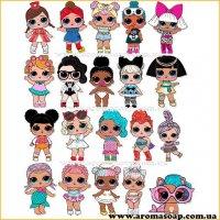 Набор картинок Куклы Лол 03