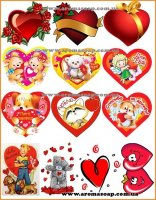 Набор картинок Сердца
