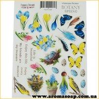Набор наклеек (стикеров) 060 Botany Spring