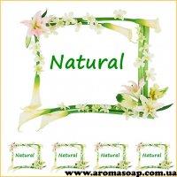 Наклейки №044 4 шт Natural