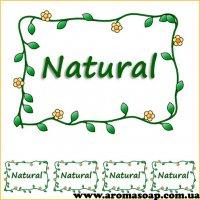 Наклейки №048 4 шт Natural